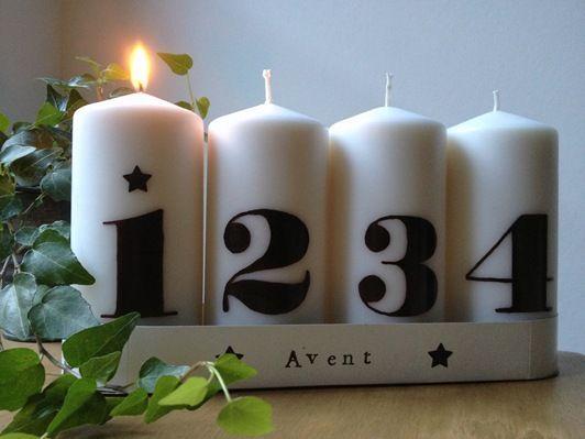 c 39 est bient t l 39 avent les bougies. Black Bedroom Furniture Sets. Home Design Ideas