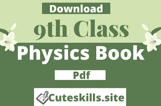9th class Physics Book pdf Download - Punjab Textbook board