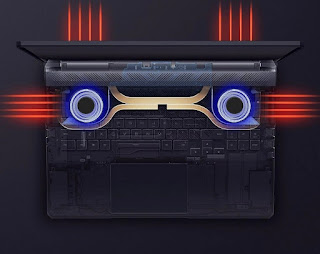sistem pendingin laptop xiaomi