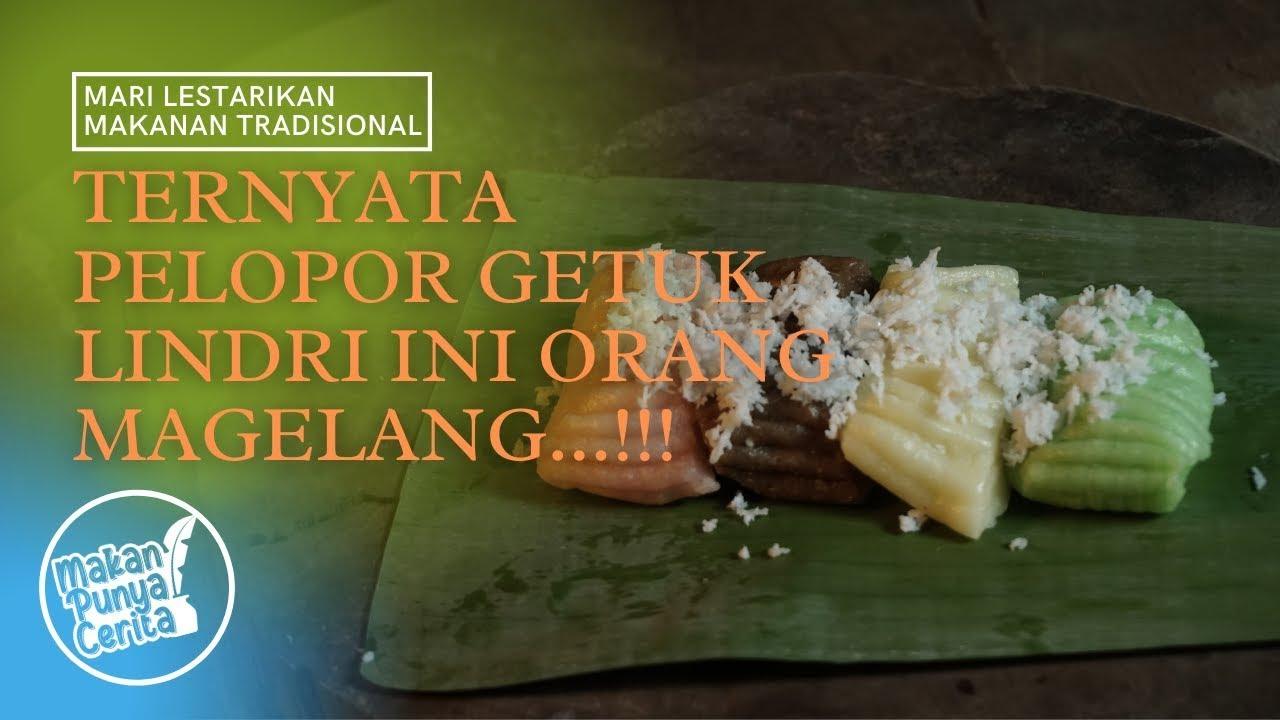 Magelang, Sejarah Makanan Tradisional Getuk Lindri