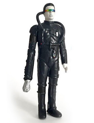 Heroes Convention 2016 Exclusive Reading Rainborg Star Trek: The Next Generation Resin Figure by Junk Fed