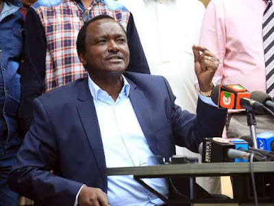Kalonzo Musyoka returns. PHOTO | FILE