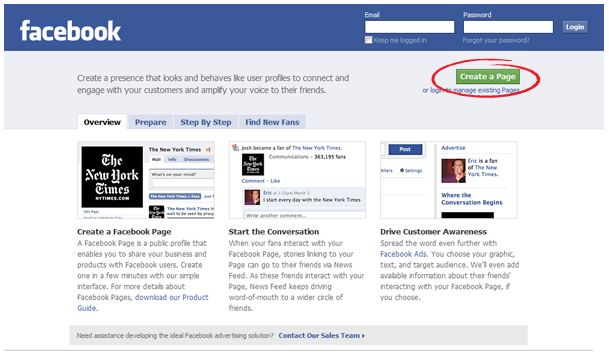 Create A Like Page On Facebook