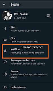 Mengatasi notifikasi whatsapp tidak muncul
