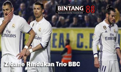 Zidane Rindukan Trio BBC