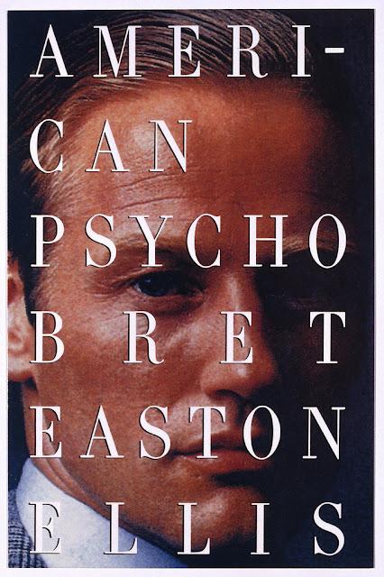 Bret Easton Ellis - American Psycho -kirjan kansi