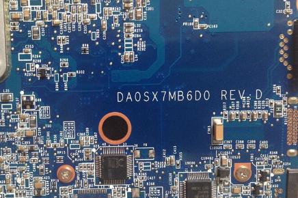 DA0SX7MB6D0 REV D U4 HP 4325S Laptop Bios