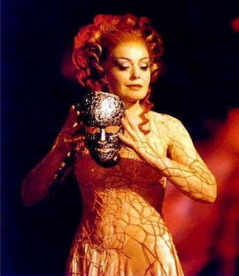Gwynneth Jones as Venus in Wagner's Tannhauser at the Bayreuth Festival