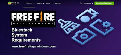 Free Fire Bluestcks PC Requirements