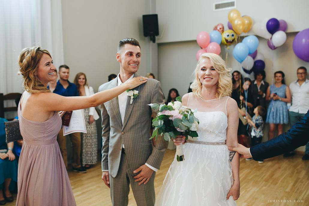 īsta kāzu reportāža