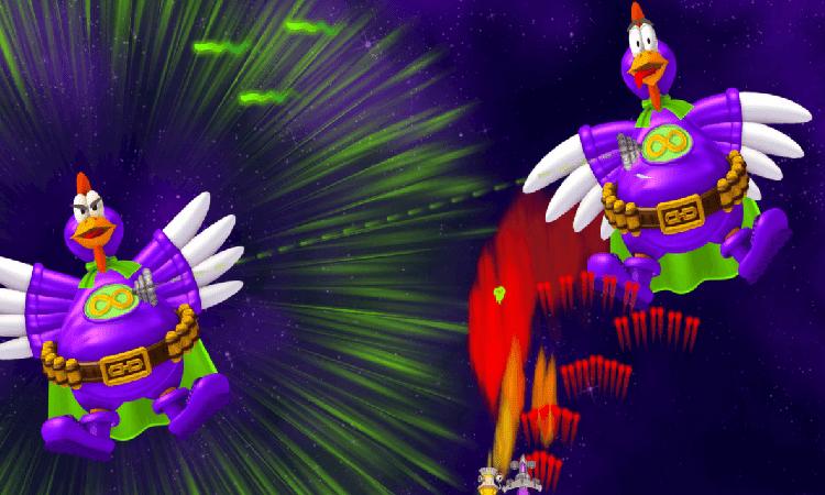تحميل لعبة chicken lnvaders