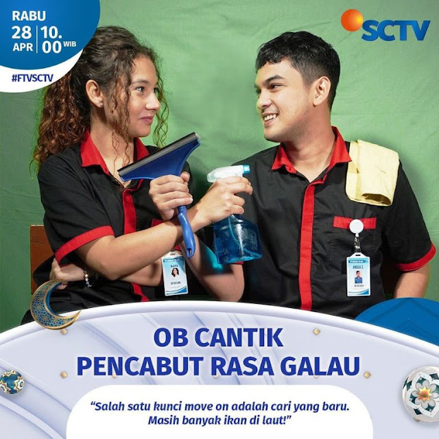 Daftar Nama Pemain FTV OB Cantik Pencabut Rasa Galau SCTV 2021 Lengkap