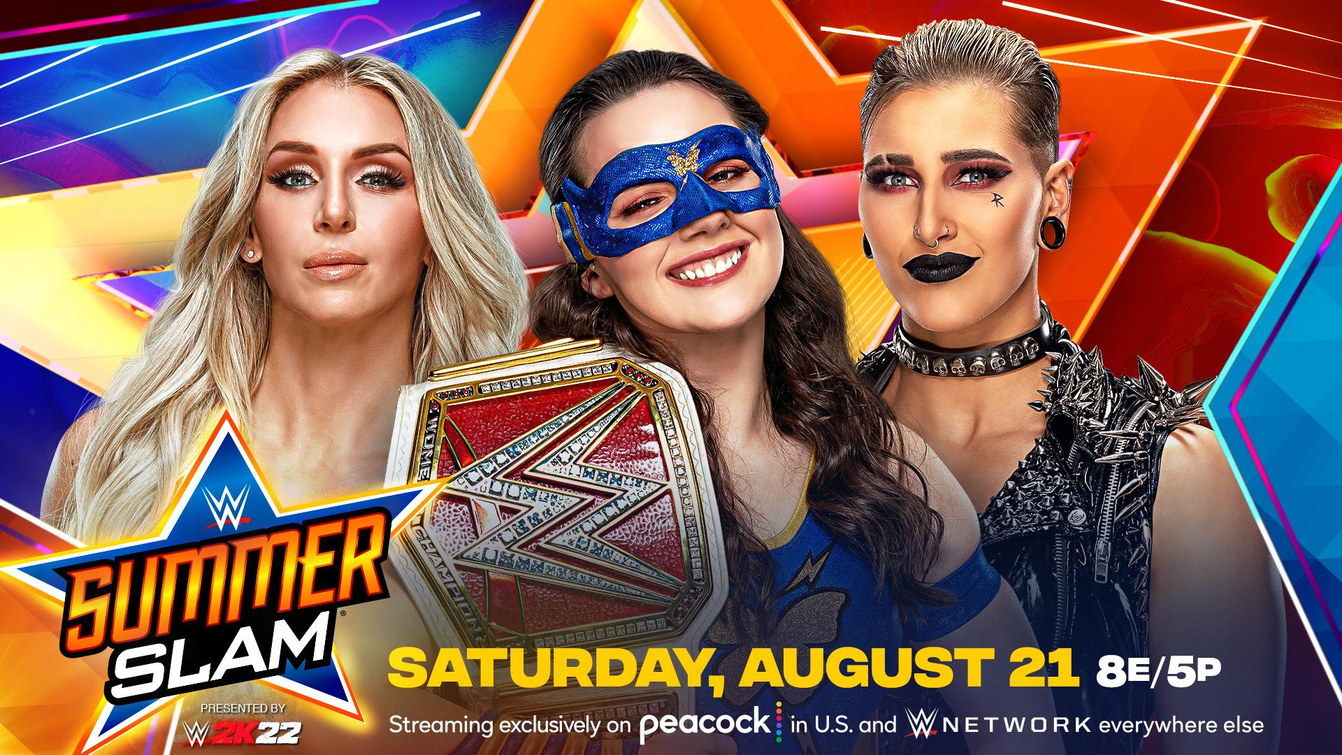Grande combate por título é anunciado para o WWE SummerSlam