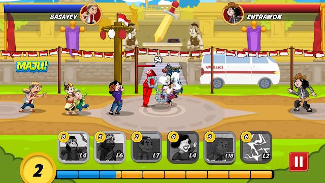 Juragan Wayang Funny Heroes Mod Apk v1.2.1