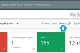 Crawler Utama Di Google Search Console