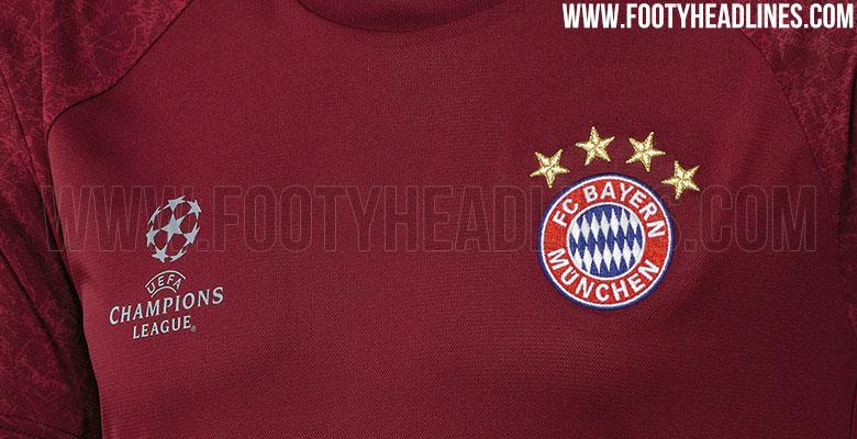 Bayern Munich 16-17 Champions League Training Shirt Leaked - Footy ... b5d1b478f