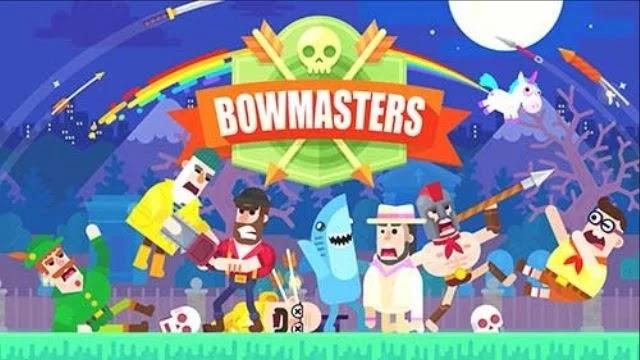 تحميل لعبة bowmasters مهكرة كل الشخصيات مفتوحة