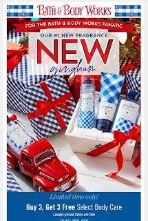 Bath & Body Works | Today's Email - December 8, 2019