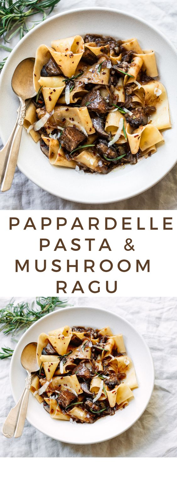 PAPPARDELLE PASTA WITH PORTOBELLO MUSHROOM RAGU #PAPPARDELLE #PASTA #WITH #PORTOBELLO #MUSHROOM #RAGU Desserts, Healthy Food, Easy Recipes, Dinner, Lauch, Delicious, Easy, Holidays Recipe, Special Diet, World Cuisine, Cake, Grill, Appetizers, Healthy Recipes, Drinks, Cooking Method, Italian Recipes, Meat, Vegan Recipes, Cookies, Pasta Recipes, Fruit, Salad, Soup Appetizers, Non Alcoholic Drinks, Meal Planning, Vegetables, Soup, Pastry, Chocolate, Dairy, Alcoholic Drinks, Bulgur Salad, Baking, Snacks, Beef Recipes, Meat Appetizers, Mexican Recipes, Bread, Asian Recipes, Seafood Appetizers, Muffins, Breakfast And Brunch, Condiments, Cupcakes, Cheese, Chicken Recipes, Pie, Coffee, No Bake Desserts, Healthy Snacks, Seafood, Grain, Lunches Dinners, Mexican, Quick Bread, Liquor