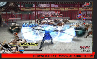 Game PSP Basara Heroes 2
