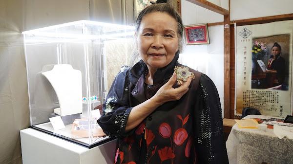 唐風珠寶藝術家張櫻覺個展 「夢迴殿堂」驚豔台中
