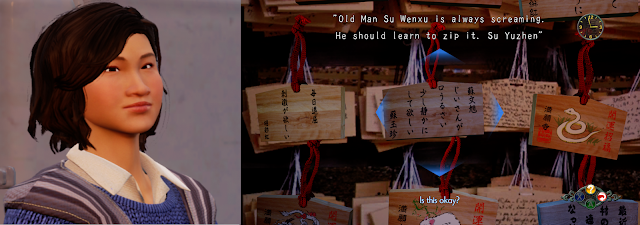 """Old Man Su Wenxu is always screaming. He should learn to zip it. - Su Yuzhen"""