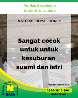 Natural Royal Honey 240gr