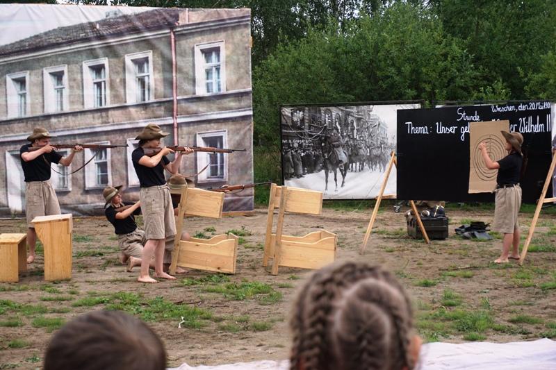 park dzieje, poznań, murowana goślina, powstanie wielkopolskie inscenizacja
