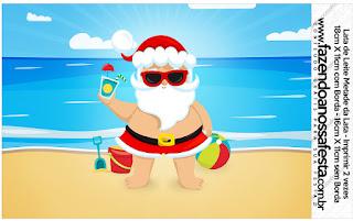 Navidad en el Caribe: Etiquetas para Candy Bar para Imprimir Gratis.