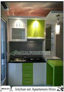 kitchen set apartemen minimalis hino