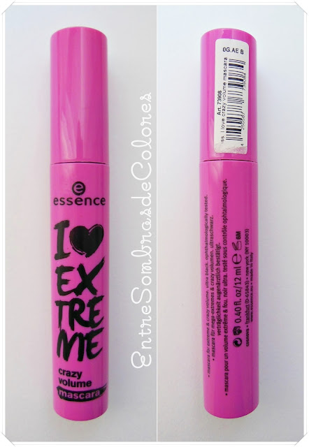 máscara de pestañas Essence I love extreme crazy volume