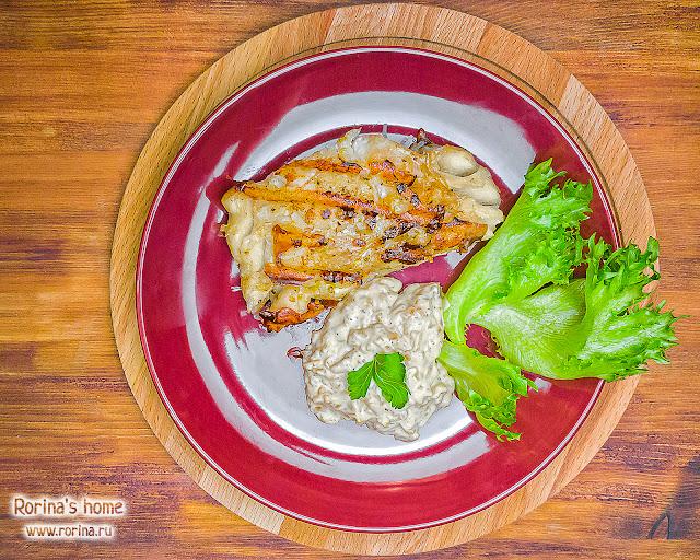 Треска на сковороде-гриль: пошаговый рецепт