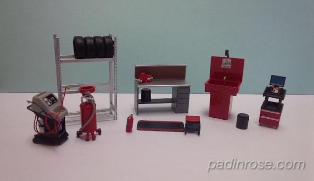 Set shop essentials projek diorama