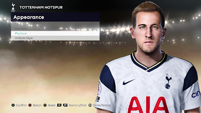 PES 2021 Faces Harry Kane by Milwalt