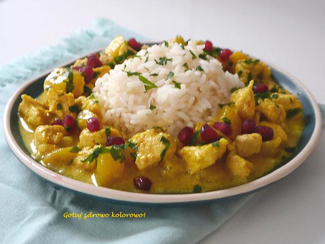 Kurczak curry z mango - Czytaj więcej »