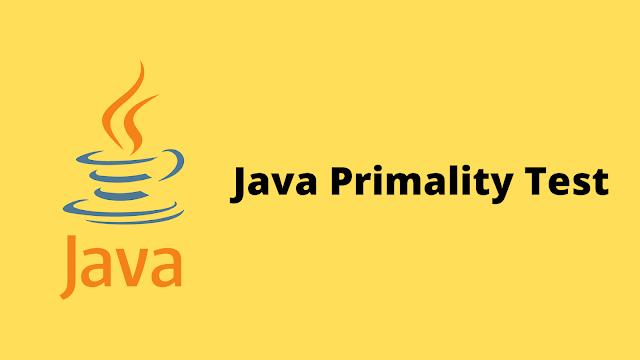 HackerRank Java Primality Test problem solution