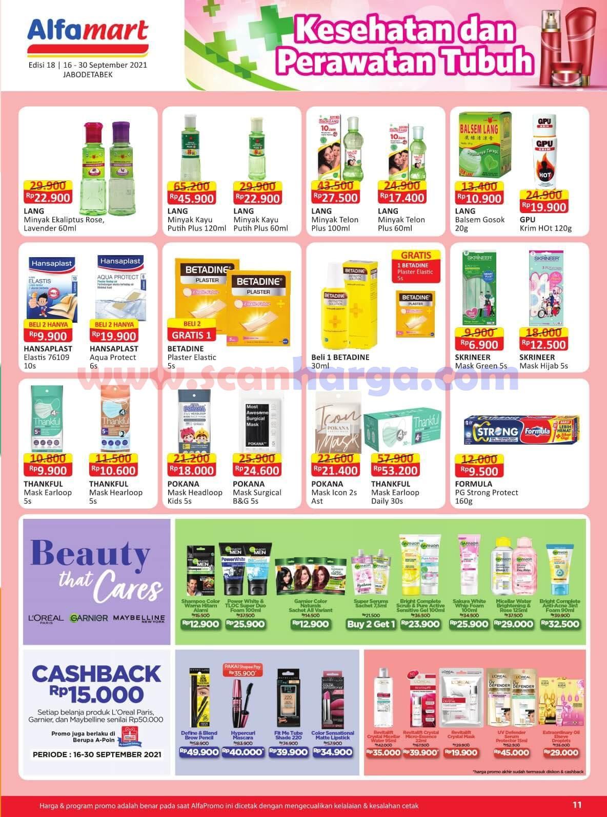Katalog Promo Alfamart 16 - 30 September 2021 11
