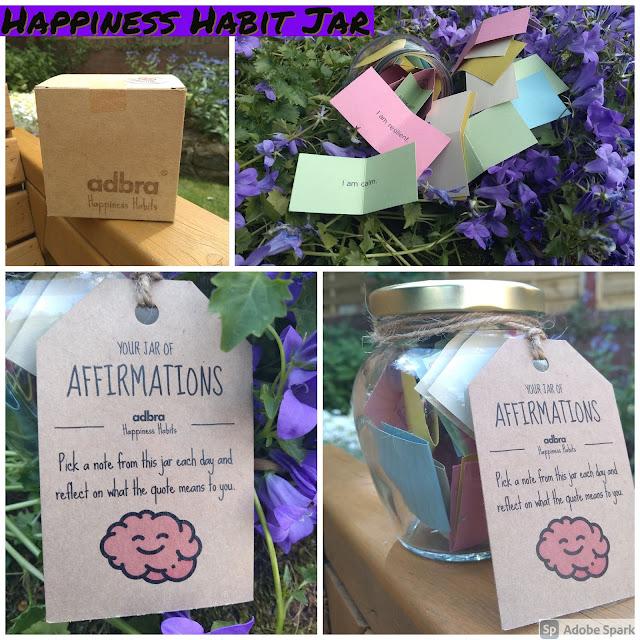 Happiness Habit Jar 30 Days of Inspiration By adbra