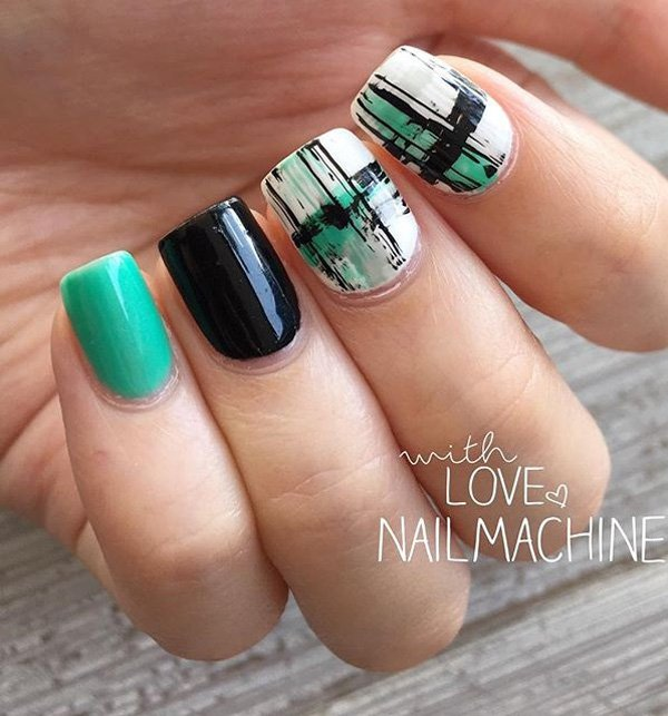 20+ Green Nail Art Ideas For Summer - Beauty & Fashion Freaks