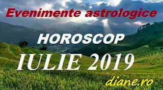 Evenimente astrologice în horoscopul iulie 2019