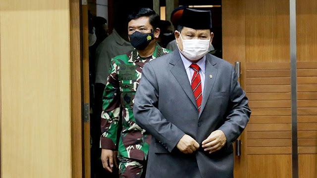 Bicara Pertahanan, Menhan Prabowo: Jika Ingin Damai, Harus Siap Perang