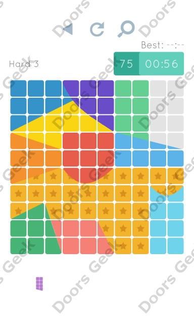 Cheats, Walkthrough for Blocks and Shapes Hard Level 3