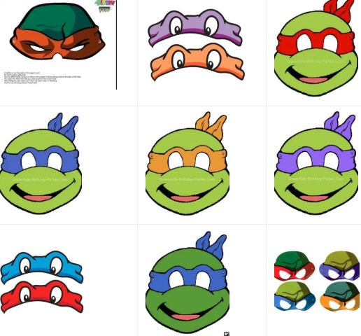 Masks of the Ninja Turtles