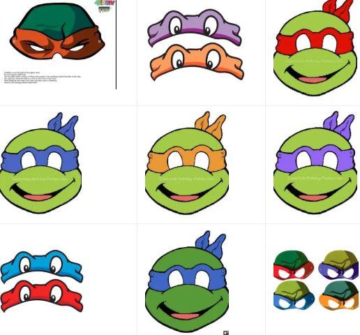 Masks of the Ninja Turtles