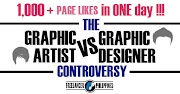 The Graphic artist vs Graphic Designer Controversy