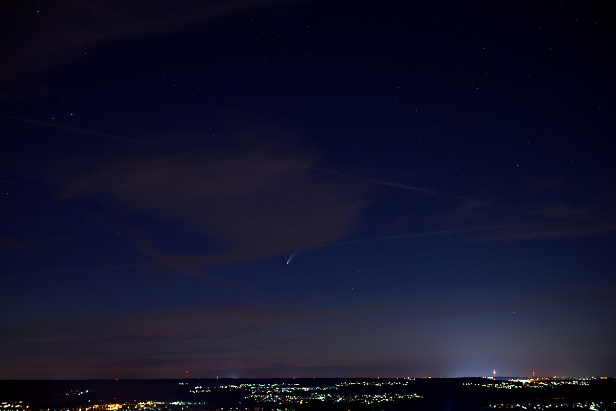 """Bild der Woche #29 (KW29/2020) –  Komet """"NEOWISE"""" – C/2020 F3"""
