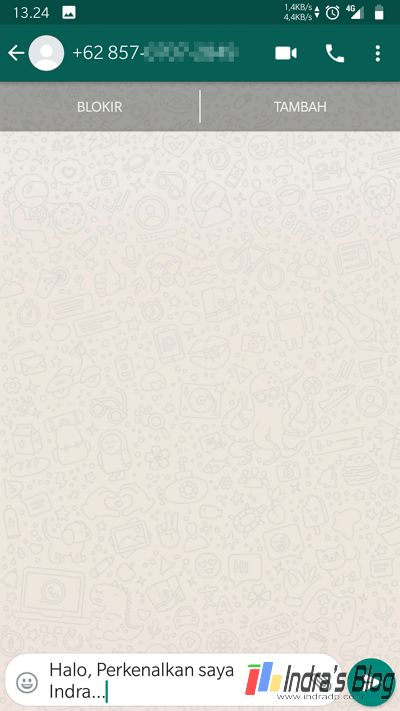 2 Cara Kirim Pesan WhatsApp Tanpa Menyimpan Nomor