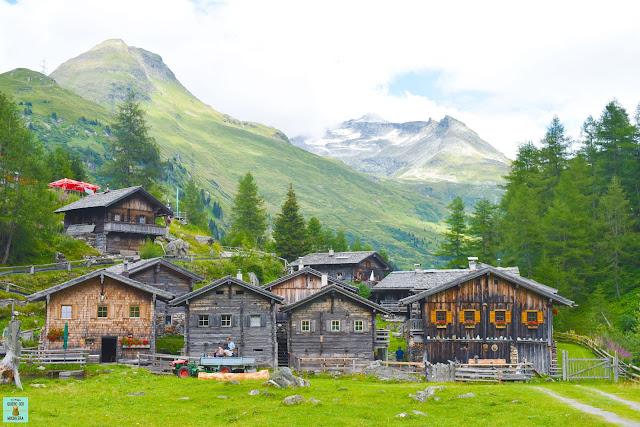 Pueblos del Tirol, Austria