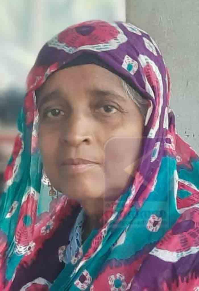 Zuhra of Thalangara Pallikal passed away