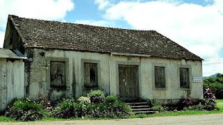 A antiga Casa de Pedra, em Igrejinha
